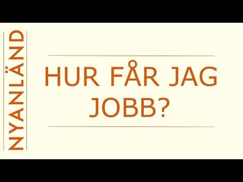 Nyanländ: Hjälp med jobb