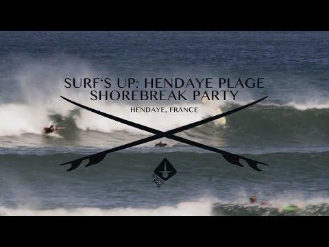 Surf's up: Shorebreak Fun in Hendaye