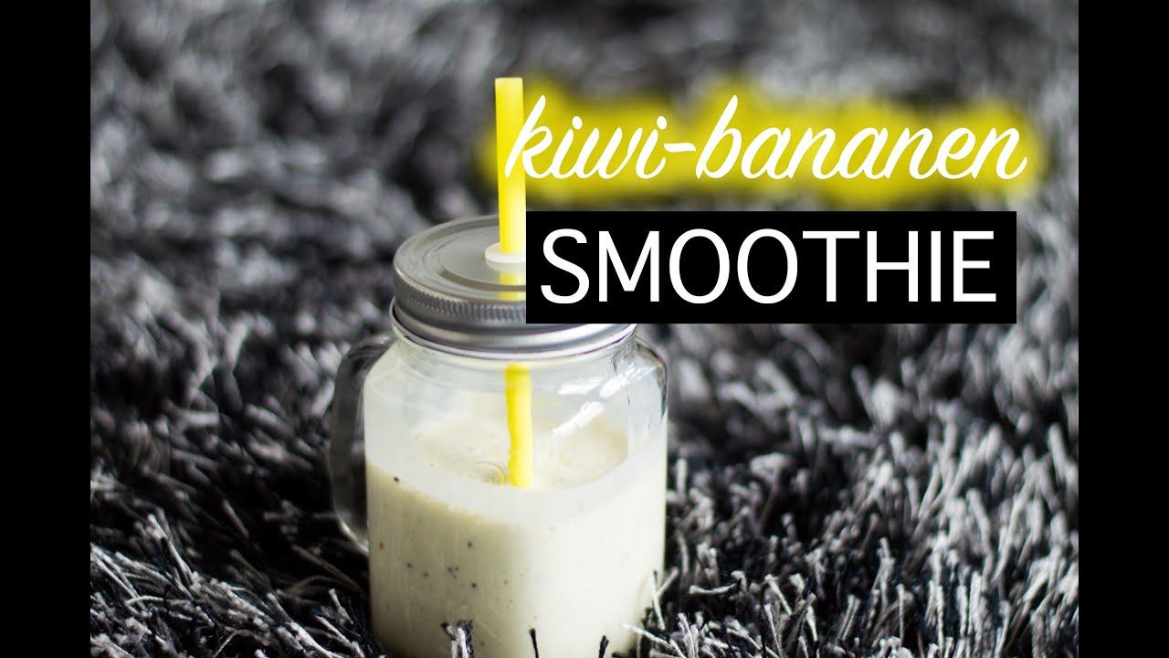 kiwi bananen smoothie youtube. Black Bedroom Furniture Sets. Home Design Ideas