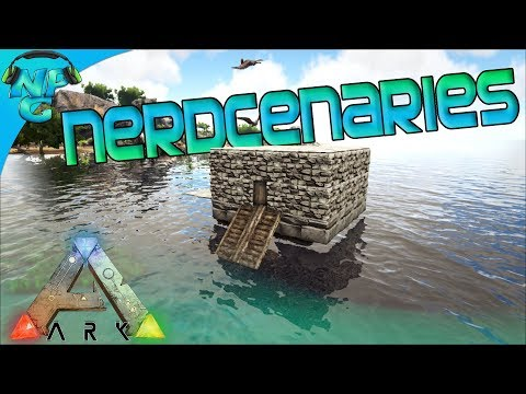 Recruit the Nerd-Cenaries - A Tribe For Hire! ARK Survival Evolved Mercenaries Season E1