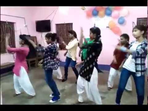 Lola Ke Na Ego Ego Hilabe - Nagpuri Dance - Siliguri S.T Girls' Hostel