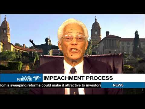 Judge Chris Greenland on Mugabe's impeachment