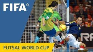 Brazil pick apart Colombia in last four