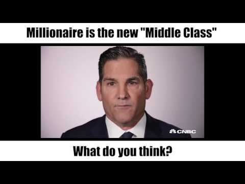 Being a millionaire is the new middle class