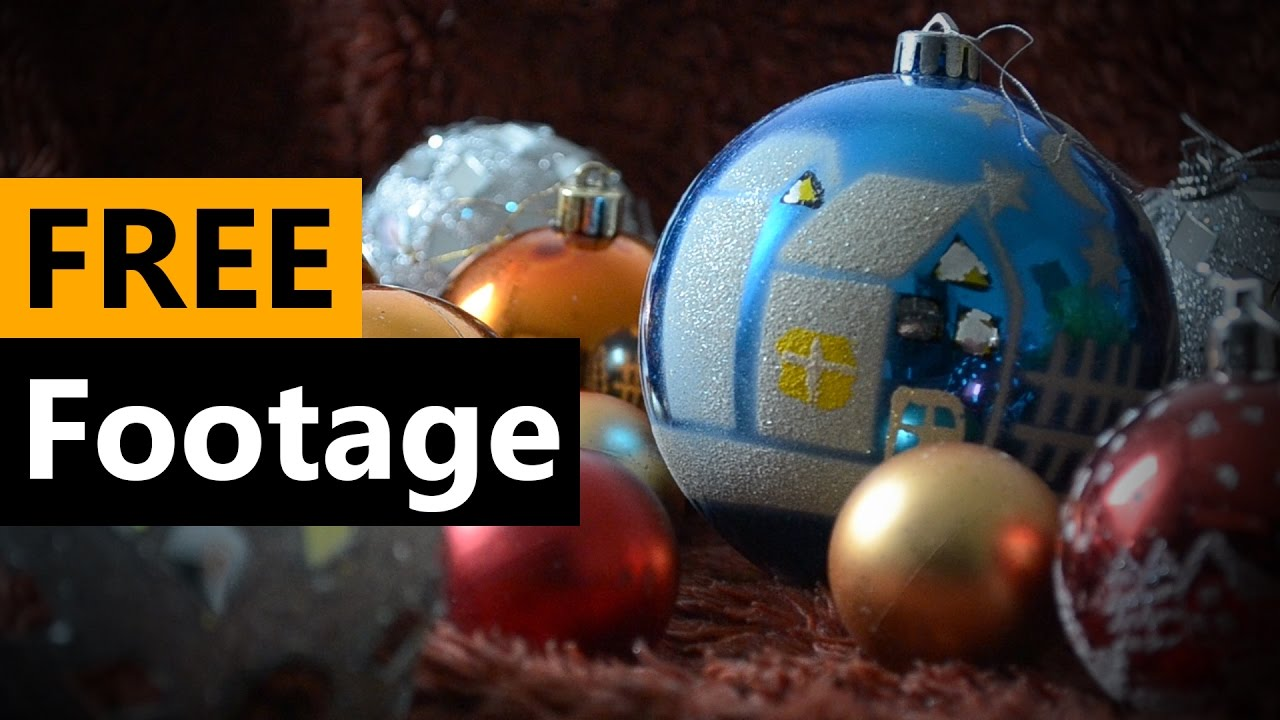 Christmas balls - FREE Stock Video Footage [Download Full HD]