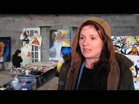 TG4 news Dingle artists