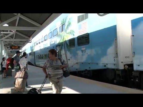 Stacja kolejowa Fort Lauderdale Airport w Miami