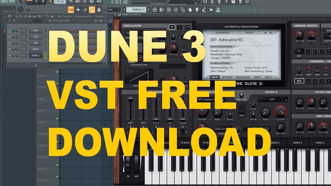 Synapse audio dune 3 vst free download.