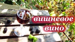 Рецепт вишневого вина домашнего приготовления