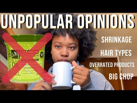 MY UNPOPULAR OPINIONS *NATURAL HAIR*