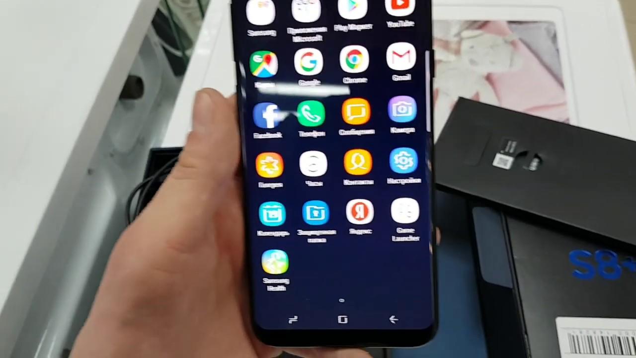 Краткий обзор на Смартфон Samsung Galaxy S8+64gb ТЛ000016432