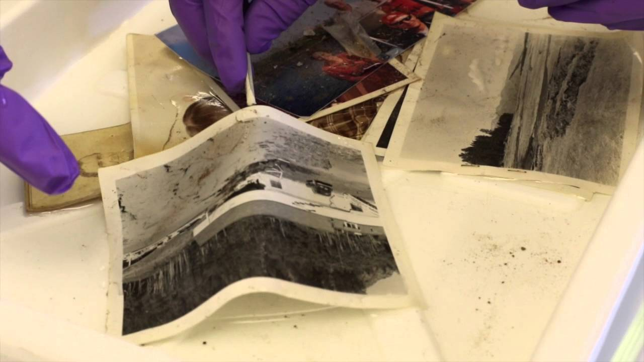 Ud art conservation how to restore flood damaged photos youtube ud art conservation how to restore flood damaged photos solutioingenieria Image collections