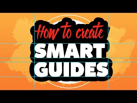 How To Create Smart Guides In Adobe Illustrator Cc - YT