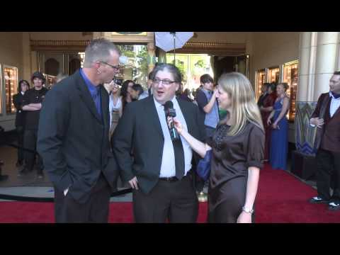 Proper Manors Red Carpet Premiere, Cate Allen s creators