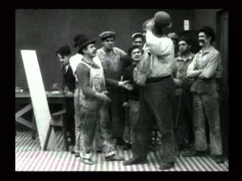Charlie Chaplin - Behind The Screen (1916)