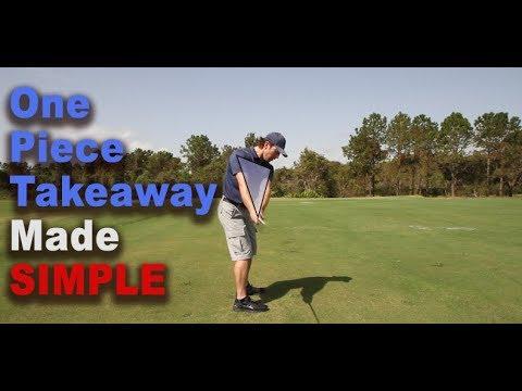 Pro Secret to One Piece Takeaway in Golf