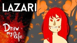 LAZARI, la historia MALDITA de la HIJA de ZALGO - Draw My Life en Español