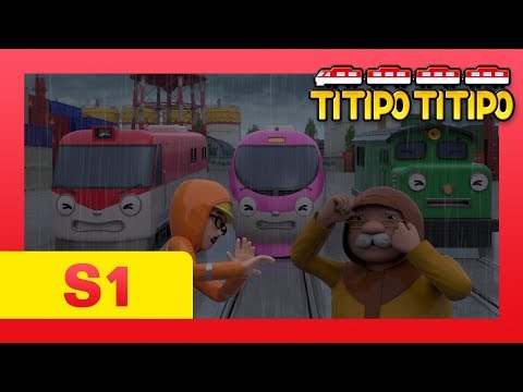 TITIPO S1 EP19 l Tornado attacks Ttitipo and Choo-choo town?! l TITIPO TITIPO