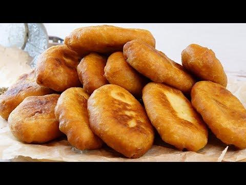 Тесто на скорую руку для жареных пирожков! Быстро, просто, очень вкусно! Пирожки с картошкой и луком