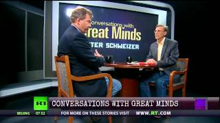Conversations with Great Minds - Peter Schweizer & Thom Debate Solutions