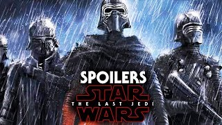 Star Wars The Last Jedi Spoilers Knights Of Ren Identities Explained