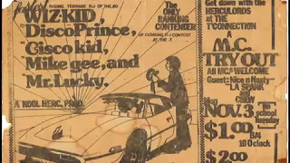 Dj Kool Herc & The Herculords - Live The T Connection (Part 1) (1981 / Old School Hip Hop)