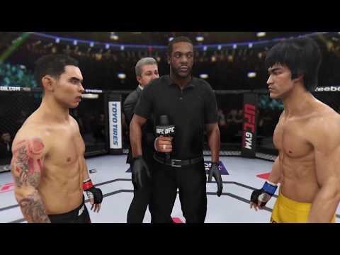 Ray Borg Vs. Bruce Lee (EA Sports UFC 3) - CPU Vs. CPU