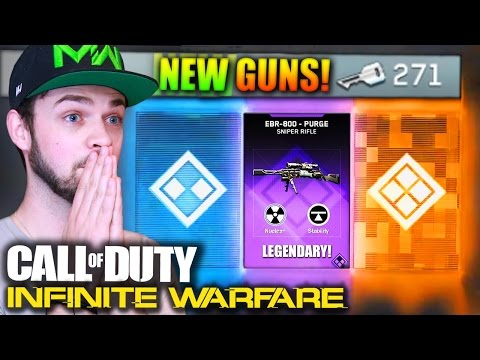 "NEW ""EPIC"" WEAPONS! - (Infinite Warfare SUPPLY DROPS) w/ Ali-A LIVE!"
