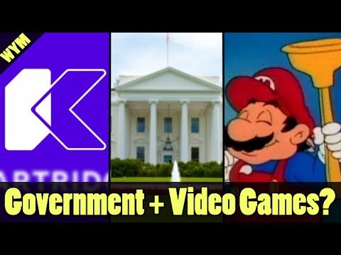 Mario is now a Plumber Again, White House Discussing Video Games, Kartridge Download Gaming Service