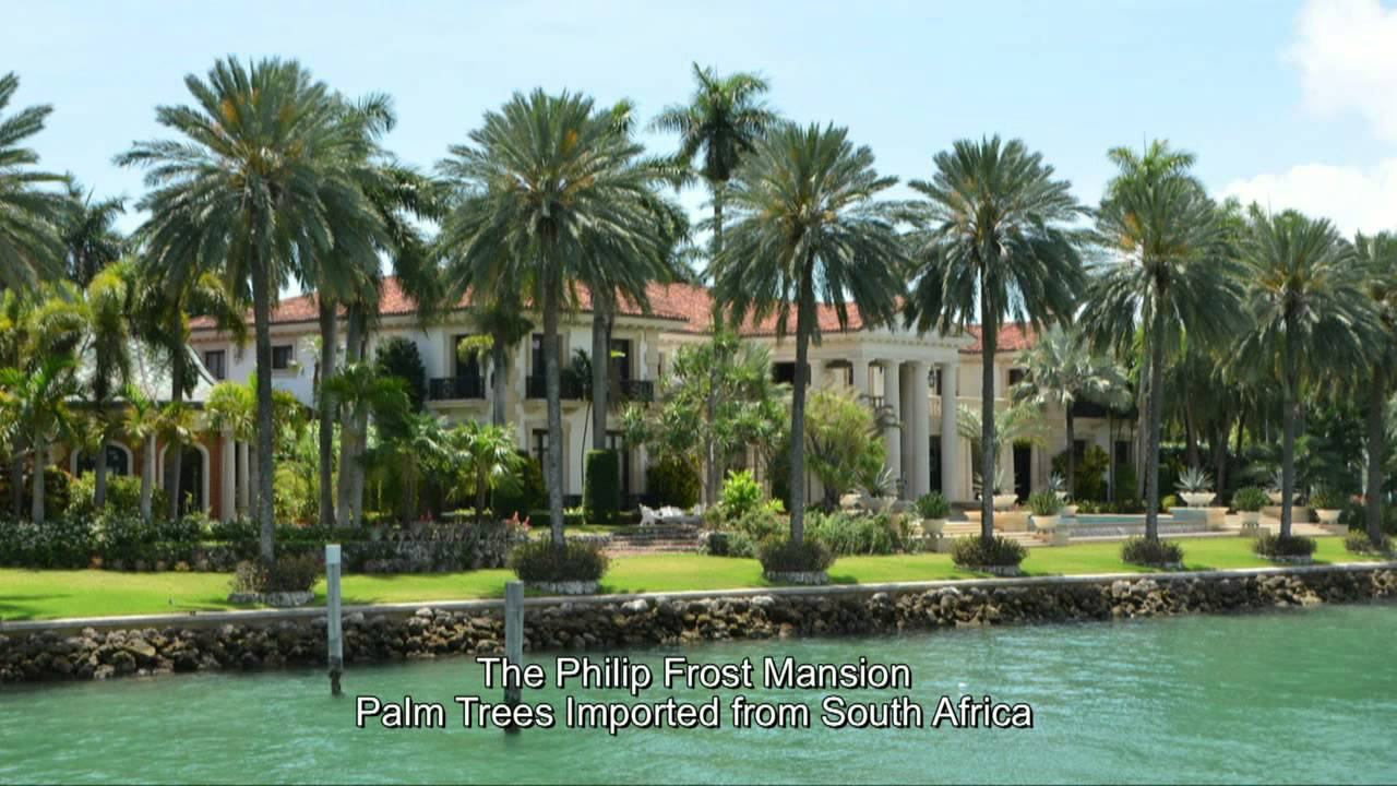 Homes of the rich and famous grethe in south florida for Celebrity houses in florida