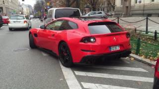Ferrari GTC4 Lusso in Warsaw 🍅