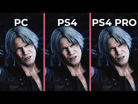 Devil May Cry 5 – PC 4K Max vs. PS4 vs. PS4 Pro Graphics Comparison thumbnail