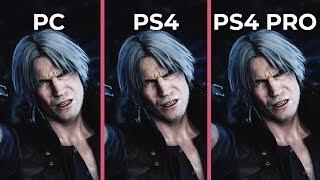 Devil May Cry 5 – PC 4K Max vs. PS4 vs. PS4 Pro Graphics Comparison