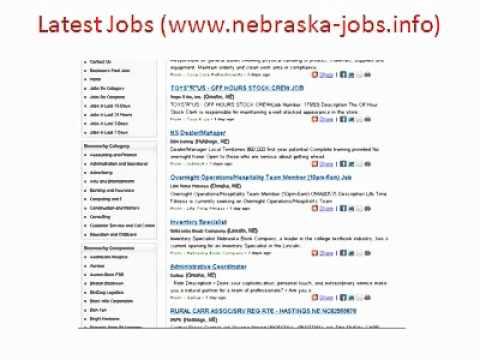 Nebraska Jobs | Jobs in Nebraska | State of Nebraska Jobs | Nebraska State Jobs