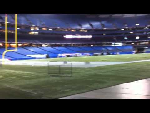 PRP Backstage: Bills in Toronto Halftime Day 1
