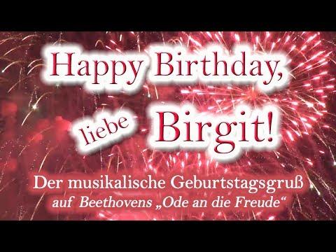 Happy Birthday, liebe Birgit!