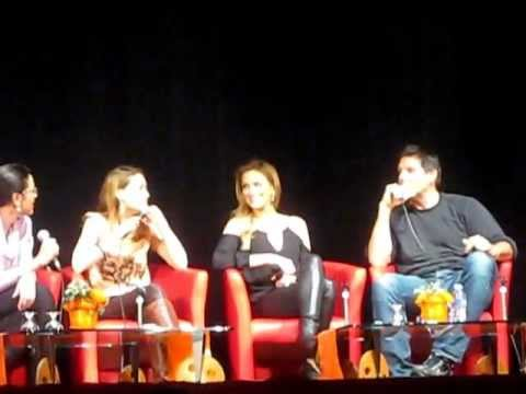"BTTH - Bethany Joy Galeotti and Paul Johansson singing ""Fly Me To The Moon"""
