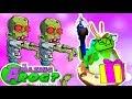 УДИВИТЕЛЬНАЯ ЛЯГУШКА дарит подарки ЗОМБИ смешное видео про лягушку пердушку AMAZIN FROG Game mp3