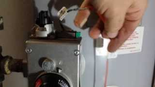 how to replacing the thermocouple on a state water heater