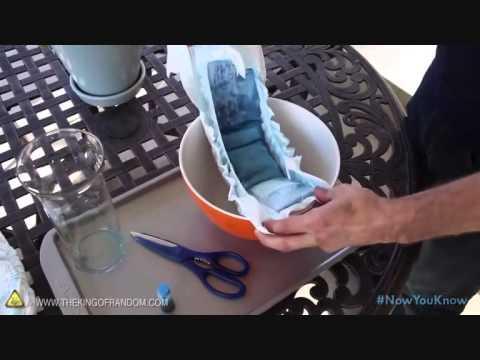 fabriquer du gel hydro avec des couches pour b b plantes int rieur et ext rieur youtube