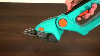 Садовые аккумуляторные ножницы для травы и кустов AccuComfortCut - обзор и характеристики модели(, 2016-04-19T11:29:51.000Z)