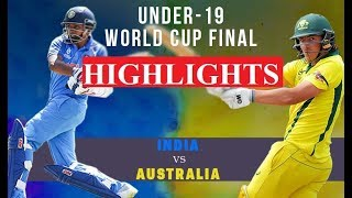 HIGHLIGHTS: India beat Australia to win the U19 Cricket World Cup