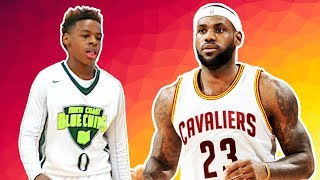 LeBron James Jr. Is DOMINATING On The AAU Circuit