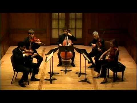 Vertigo String Quintet plays Brahms Viola Quintet No. 2