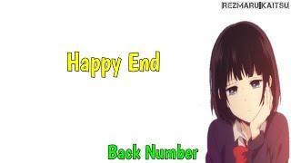 Lagu Jepang Sedih | Happy End - Back Number | Terjemahan Lirik Indonesia