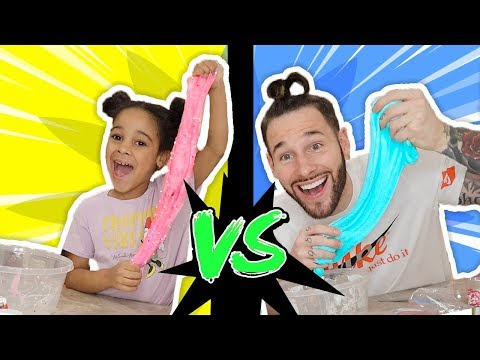 Cali VS Daddy Slime Competition