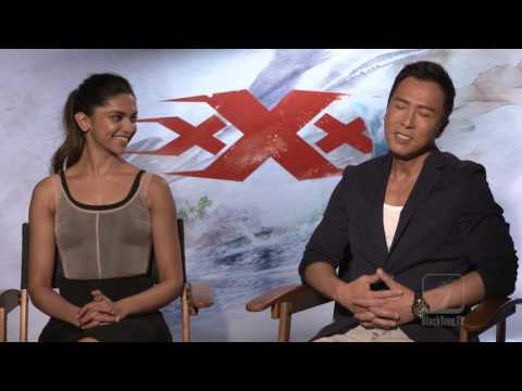 Donnie Yen and Deepika Padukone interview for XXX Return of