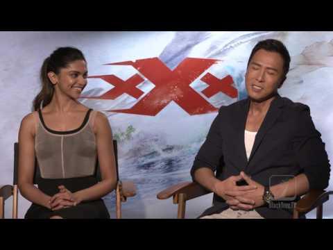 Donnie Yen and Deepika Padukone interview for XXX Return of Xander Cage