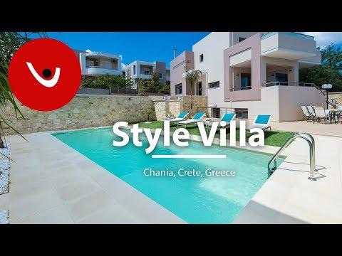Style Villa to Rent in Chania Crete Greece | Unique Villas | uniquevillas.gr