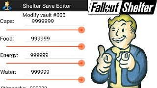 Fallout Shelter Save Editor Android 1.7